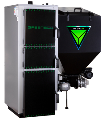 Greeneco Delux II - 30kW regulace Tech 480 PID