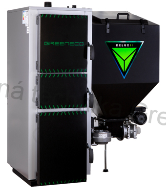 Greeneco Delux II - 15kW regulace Tech 480 PID